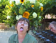 master dragonfly florist Z as you've never seen her before (but we have)