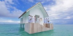 Four Seasons Over Water Wedding Pavilion - Get Married In The Middle Of The Ocean