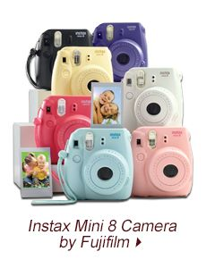 Instax Mini 8 Camera by Fujifilm