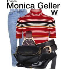 Inspired by Courteney Cox as Monica Geller on Friends.