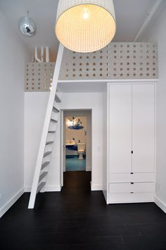 Studio DB LLC / TriBeCa Loft / Children's Lofted Bed / ©Studio DB