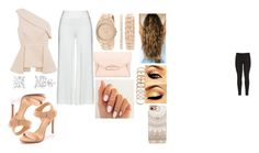 A fashion look from August 2015 featuring one shoulder tops, plus size pants and Schutz. Browse and shop related looks. White Pants, Anne Klein, Workout Shirts, Casetify, Givenchy, Idol, Forever 21, Fashion Looks, Polyvore