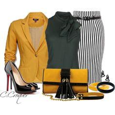 Bright Blazer - Mustard
