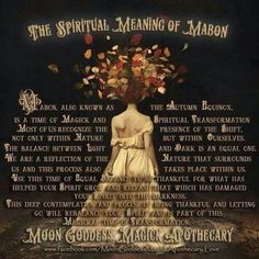 The Spiritual Meaning of Mabon – Witches Of The Craft®