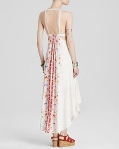 Free People Dress - Printed Caught In The Moment | Bloomingdale's