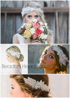 wedding-hair-pieces-beaded-headbands... Kinda like it but wouldn't want a full headband