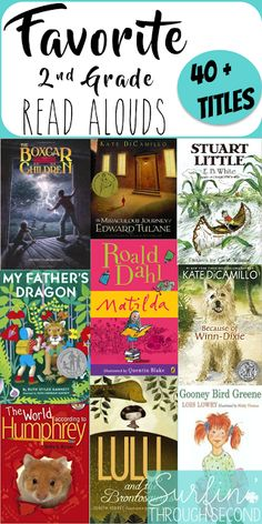 Second grade teachers were asked what their favorite read alouds were and these were the top choices!