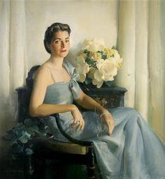 Portrait of a Lady - Haddon Hubbard Sundblom (American, 1899-1976)