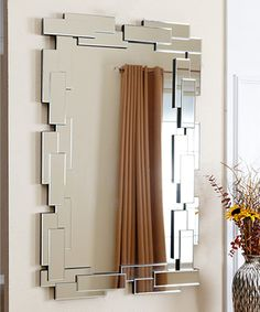 Love this Silver Delilah Rectangle Mirror by Abbyson Living on #zulily! #zulilyfinds