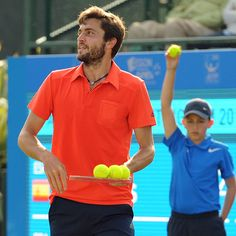 Giles Simon (FRA) Second Round AEGON Open Nottingham Copyright B&O Press Photo