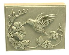 Chase Creative molds : Bird Hummingbird in nature flex soap mold molds MPCP