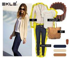 Per un look chic ed informale, scegli Eklè! Riconosci il tuo stile? #ekle #stylingtips