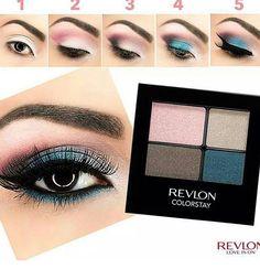 Pasos correctos para aplicar las sombras de ojos & quedar con un look   cautivante.
