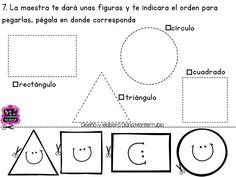 Mini evaluación preescolar     Puedes encontrar más en el grupo   Learning to teach       Da clic en cada imagen para verla en grande     ...