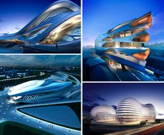 Parametric Style: Radical Architecture by Zaha Hadid  Dark Roasted Blend