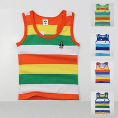 5.89$  Buy now - http://alim5j.shopchina.info/go.php?t=32459134816 - high quality kids summer clothing for boys girls  baby toddler big boy clothes  children sleeveless 100% cotton vest  t shirt 5.89$ #bestbuy
