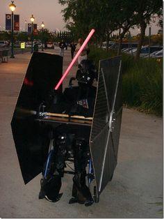 Traje para a cadeira de rodas - Idéias criativas (2)