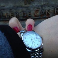 Rolex DayDate President with Diamond Index at El Celler de Can Roca