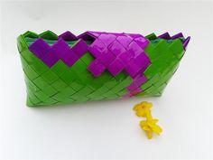 bridesmaid clutch bagorigami bagcandy wrapper by colorfulconcept, $30.00