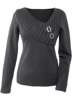 #Bodyflirt damen pullover in grigio: originale  ad Euro 24.99 in #Pullover grigio bodyflirt #Donna > moda donna dalla a alla >