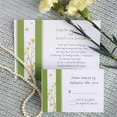 green and yellow flower spring wedding invites Spring Wedding Invitations, Yellow Flowers, Save The Date, Wedding Inspiration, Wedding Ideas, Bing Images, Hair Accessories, Invites, Green