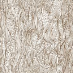 Abstract hand-drawn pattern, waves background. Seamless pattern can be used for wallpaper, pattern fills, web page background, surface textures.  Found from Google image search…