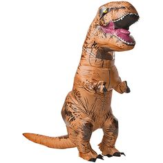 Give a roar in our latest T-Rex Inflatable Dinosaur Costume - now with sound! This adult dinosaur costume is a viral sensation you can wear for fun or Halloween. T Rex Halloween Costume, Dinosaur Costume, Halloween Fancy Dress, Adult Halloween, Dinosaur Halloween, Dinosaur Party, Funny Halloween, Halloween Couples, Halloween Ideas
