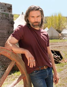 Mount Anson Mount's cover article with Cowboys and Indians Magazine.Anson Mount's cover article with Cowboys and Indians Magazine. Anson Mount, Non Blondes, Hell On Wheels, Cowboys And Indians, Older Men, Dream Guy, Bearded Men, Celebrity Crush, Gorgeous Men