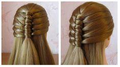 Tuto coiffure pour tous les jours (pour l'école / travail) ❀ Tresse simp...