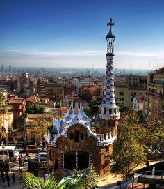 Barcellona Spain - Parc Guell - no words. I love Gaudi Oh The Places You'll Go, Places To Travel, Travel Destinations, Places To Visit, Parc Guell, Spain And Portugal, Spain Travel, Travel Europe, Dream Vacations