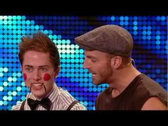 Britain's Got Talent James Ingham and Ed Gleave audition (+playlist) Britain's Got Talent, Talent Show, Just For Fun, Some Fun, Comedy Clips, Funny Videos, Bbc, I Laughed, Laughter