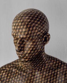 Levi Van Veluw , In the veneer, wood (NL) Human Art, Cool Artwork, Fine Art Photography, Wood Art, New Art, Sculpture Art, Amazing Art, Sculpting, Street Art