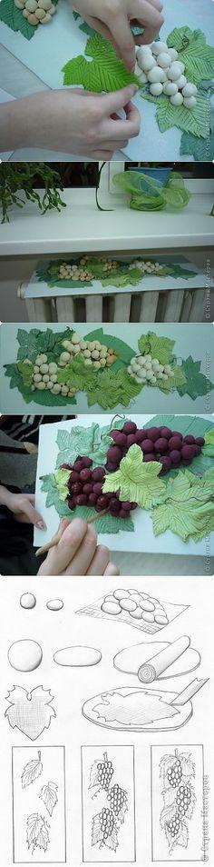 Виноград (панно)