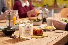 Moka Caramel - #LaBelleMeche #BougieParfumee #ScentedCandle #lifestyle - Photographe : Blaise Arnold - Production : La Fabrique de Mai