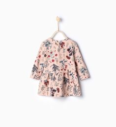 Raised flowers dress-Dresses and Jumpsuits-Baby girl | 3 months-4 years-KIDS | ZARA United Kingdom