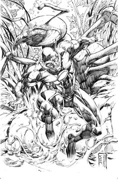 Ant-Man by Jim Jimenez Comic Books Art, Comic Art, Hank Pym, Fictional Heroes, Marvel Comics Art, Black White Art, Enemies, Love Art, Avengers