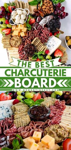 Looking for that perfect New Year's Eve appetizer? This impressive Charcuterie Board is piled high with cured meats, cheeses, crackers, fruit, nuts and more. Your guests will be wowed by this gorgeous� More