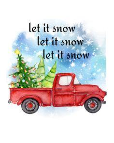 Christmas Banner Printable, Merry Christmas Banner, Christmas Truck, Christmas Scenes, Red Christmas, Christmas Decor, Christmas Ideas, Free Printable Gift Tags, Free Printables