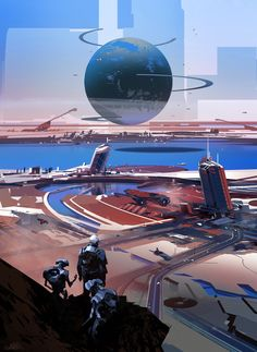Meet the art of CG Legend Artist, Sparth ( Nicolas Bouvier ) who's recently worked as art director for Halo 5
