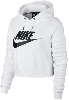 Nike Women's Sportswear Rally Cropped Hoodie, Size: XL, Black- Source by pintercenterChildrenFashion women clothes Cute Swag Outfits, Cute Comfy Outfits, Sporty Outfits, Teen Fashion Outfits, Nike Outfits, Athletic Outfits, Athleisure Outfits, Nike Hoodies For Women, Nike Women