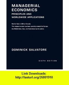 Statistics for business and economics 8th edition 9780132745659 managerial economics principles and worldwide applications 9780195326994 dominick salvatore isbn 10 fandeluxe Gallery