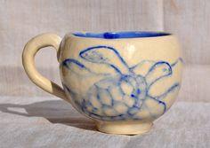 Sea turtle handmade ceramic mug £15.00
