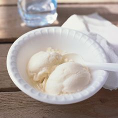 Honey Ice Cream Recipe - Saveur.com ~ This recipe came from beekeepers Susan and Boyd Dahms of Rudd, Iowa. They used pale golden, mild-tasting honey from their own hives for this ice cream.