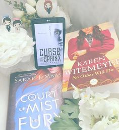 #fullybookedjune16 Day 30: Wrap-up 💐 As you can see I didn't stick to my June TBR. I thought I would! I knew this would be a busy month so I wouldn't have tons of time to read but I didn't anticipate for my sudden need to rewatch the entire series of Charmed ... Anyways...the books I read this month were all great! ... • Curse of the Sphinx by Raye Wagner ❤️❤️❤️.5 • A Court of Mist and Fury by Sarah J. Maas ❤️❤️❤️❤️❤️ • No Other Will Do by Karen Witemeyer ❤️❤️❤️❤️❤️ ... 💐