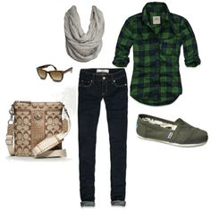 My first outfit I put together on Polyvore! Now I need to buy this stuff! YAY!