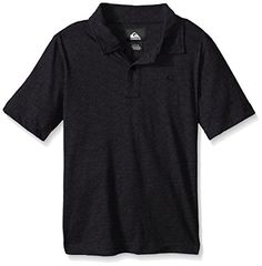 Quiksilver Big Boys Standard Polo Shirt Black Heather Medium *** Check out the image by visiting the link.Note:It is affiliate link to Amazon.