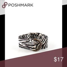 J.Crew Fashion Belt Brand: J.Crew. Size: Small/Medium. Description: black & white animal prints. Materials: 100% silk. J. Crew Accessories Belts