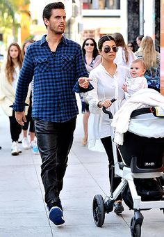 Penelope Scotland Disick is already learning how to shop in Beverly Hills!