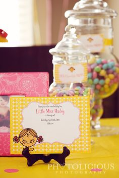 little miss sunshine birthday party invite