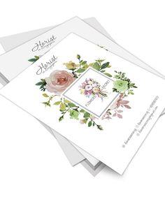 Легкий цветочный дизайн флаера для флориста. #design #graphicdesign #flyer #printed #flowers #florist #графическийдизайн #листовка #флаер #цветы #флорист